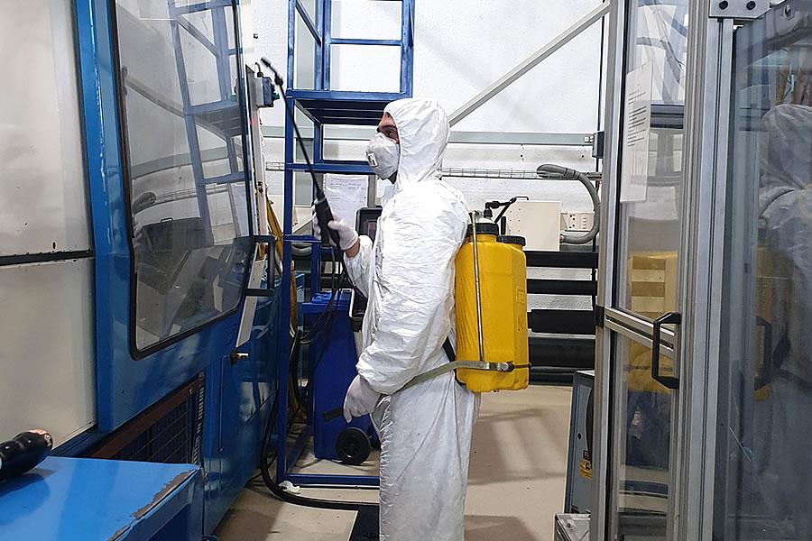 Empresa de limpieza en Pamplona: desinfección frente al COVID-19